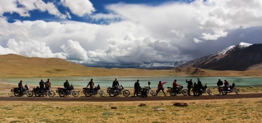 Manali Leh Srinagar bike trip
